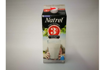 Milk 2L Natrel 3.25% Filtered Homogenized