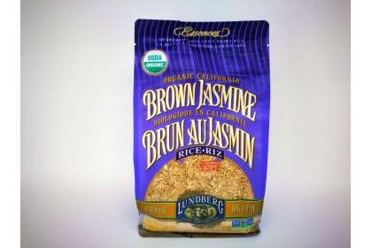 LUNDERG BROWN JASMINE RICE  907 g