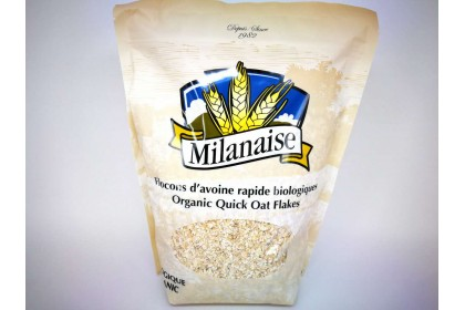 MILANAISE ORGANIC QUICK OAT FLAKES
