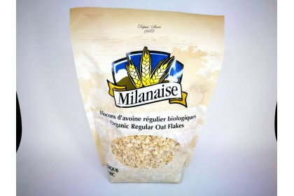 MILANAISE ORGANIC REGULAR OAT FLAKES