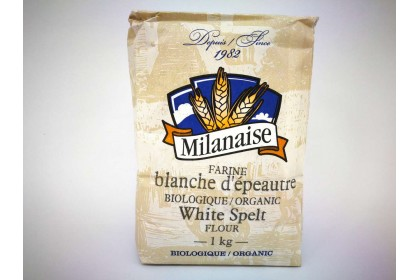 MILANAISE WHITE  SPELT FLOUR 1 KG