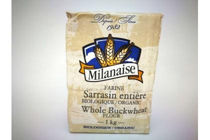 MILANAISE WHOLE  BUCKWHEAT 1 KG
