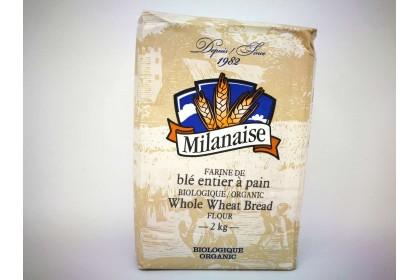 MILANAISE WHOLE WHEAT BREAD FLOUR 2 KG