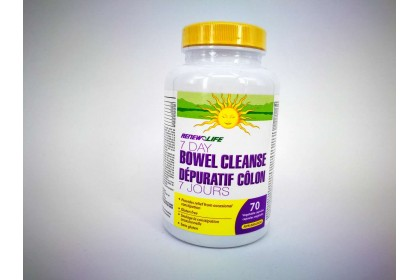 RENEW LIFE BOWEL CLEANSE (7 0 CAPSULES)