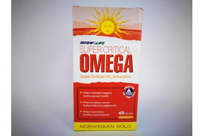 RENEW LIFE OMEGA RED (60 CAPSULES)