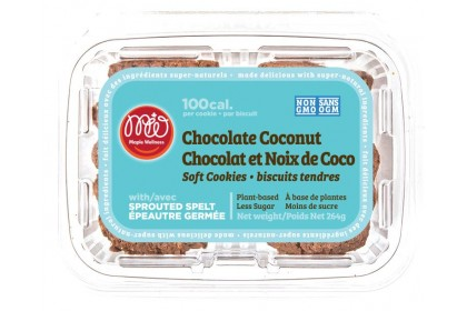 Maple Wellness  cookie  dark chocolate coconut