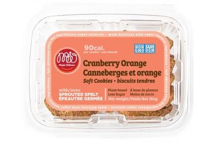 Maple Wellness  cookie  cranberry orange