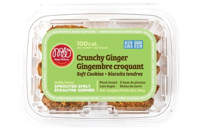 Maple Wellness crunchy ginger