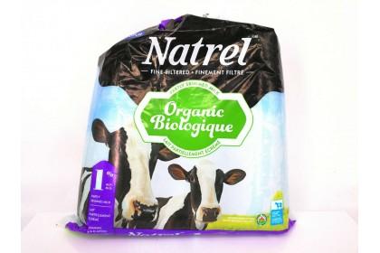 Milk Bag 4L Natrel 1% Partly Skimmed Milk Organic