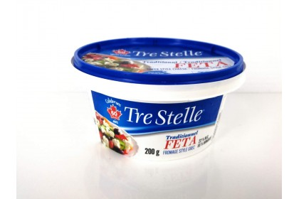FETA CHEESE TRADITIONAL 200 G TRE STELLE