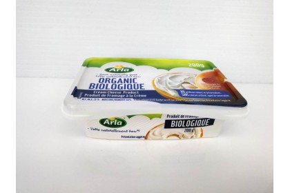 CREAM CHEESE ORGANIC 200 G Arla