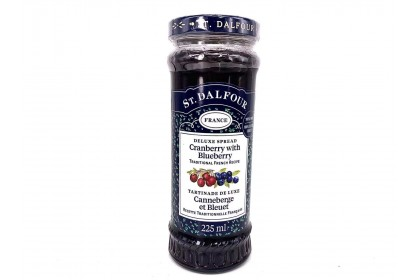 St Dalfour Cranberry & Blueberry Jam