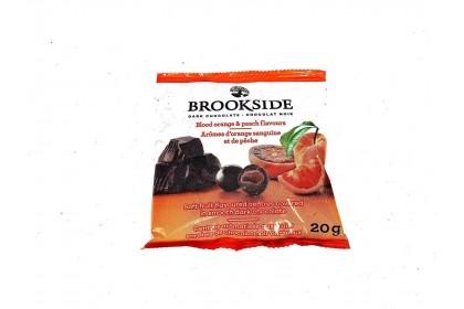 Brookside Dark Chocolate Blood Orange & Peach Flavours 20g