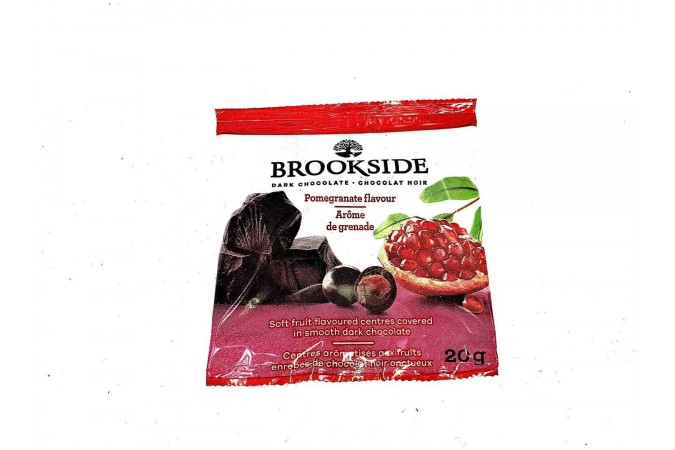 Brookside Dark Chocolate Pomegranate Flavours 20g