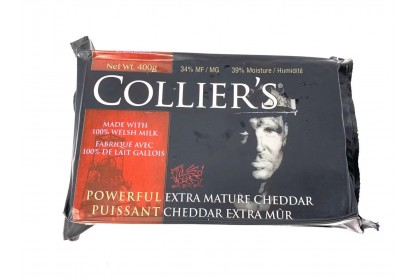 Collier's Extra Mature Cheddar 400g