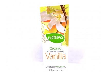 Natur-a Soy Beverage Organic Vanilla 946ml