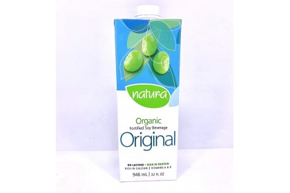 Natur-a Soy Beverage Organic Original 946ml