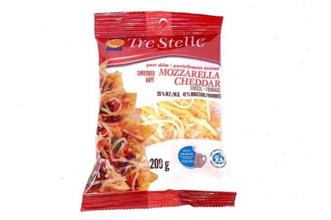 Trestelle Mozzarella Cheddar Shredded 200g