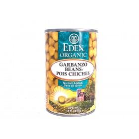 Eden Organic Chick Peas 398ml