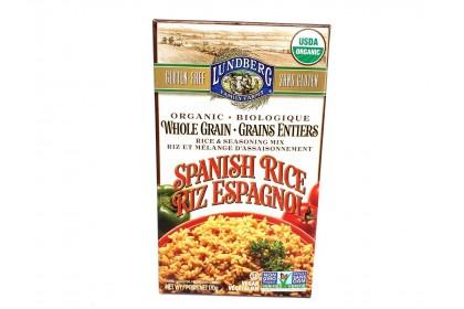 Lundberg Organic Whole Grain Spanish Rice 170g - Vegan