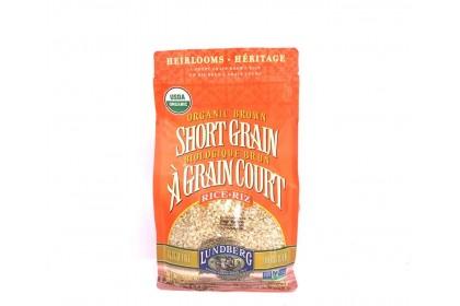Lundberg Organic Brown Short Grain Rice 907g
