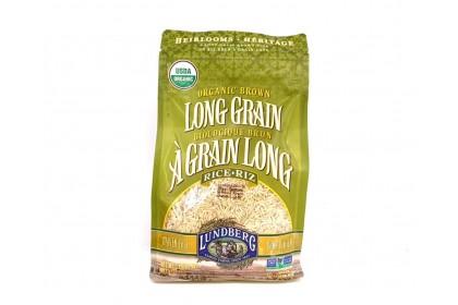 Lundberg Organic Brown Long Grain Rice 907g