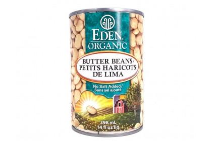 Eden Organic Butter Peas 398ml