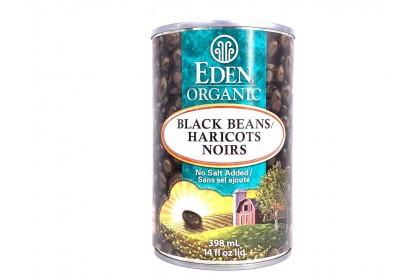 Eden Organic  Black Beans 398ml
