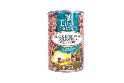 Eden Organic Black Eyed Peas 398ml