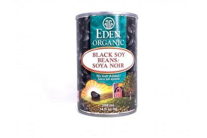Eden Organic  Black Soy Beans 398ml