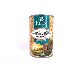 Eden Organic  Navy Beans 398ml