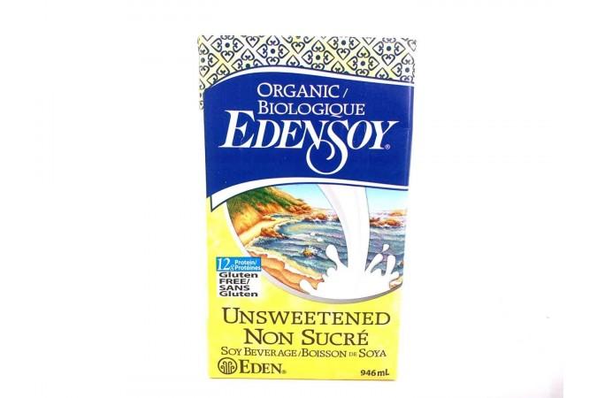 Eden Organic Soy Unsweetened 946ml