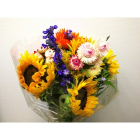 SUNFLOWER MIX BOUQUET