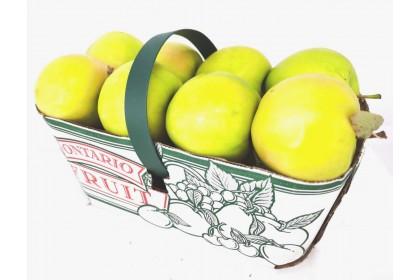 Apple Ginger Gold Ontario basket