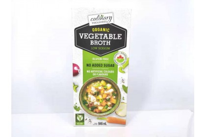 Culinary Vegetable Broth  Organic 946 ml