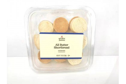 Archer farms All Butter Shortbread cookies 220 g