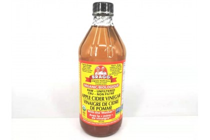 Bragg apple cider vinegar organic 473 ML