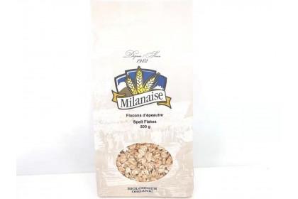 Milanaise Organic Spelt  Flakes 500 G