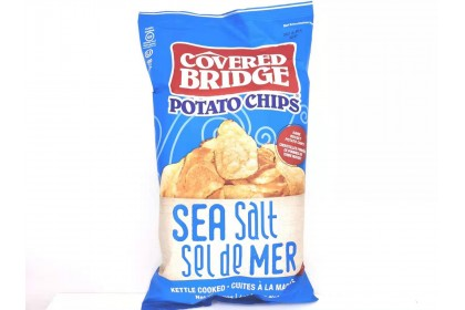 Covered Bridge Potato Chips Sea Salt  170 G