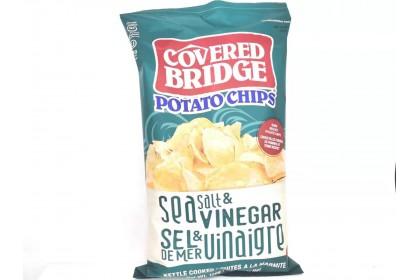 Covered Bridge Potato Chips   Sea Salt & Vinegar  170 G