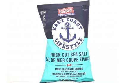 Covered Bridge Potato Chips   Thick Cut Sea Salt   170 G