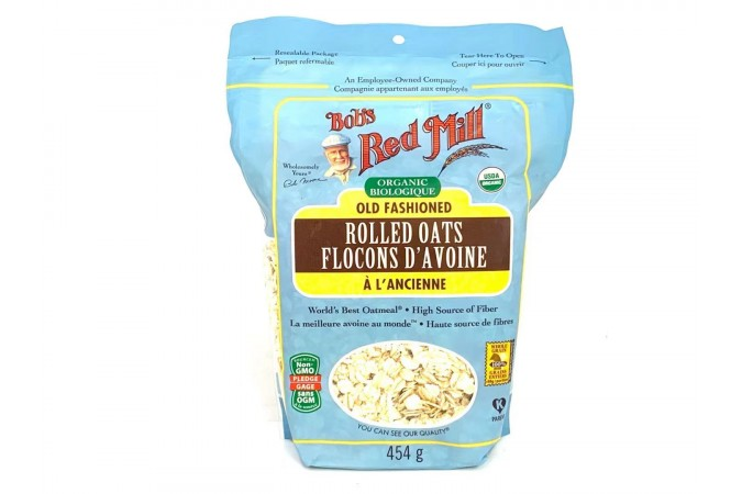 Red Mill Old Fashion Rolled Oats Organic 454g