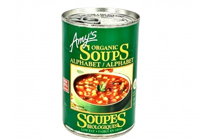 Amy's Organic Alphabet Soups 398ml