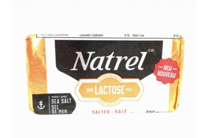 Butter Natrel Sea Salted  250G