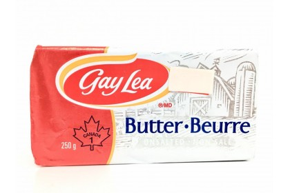 Butter Gay Lea Unsalted   250 G