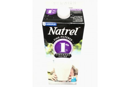 Milk 2L Natrel 1% Filtered