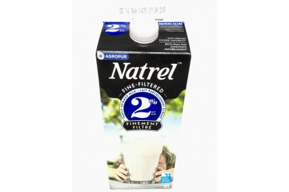 Milk 2L Natrel 2% Filtered