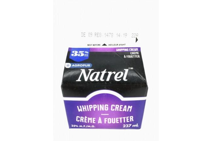 Cream Sealtest 35% Whipped  237ml
