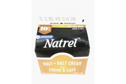 Cream Sealtest 10% Half and Half  237ml