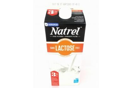 Milk 2L Natrel Lactosse Free 3%  Partly Skimmed
